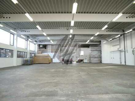 KEINE PROVISION ✓ SOFORT VERFÜGBAR ✓ Lager (500 m²) & Büro-/Service (400 m²/teilbar) zu vermieten