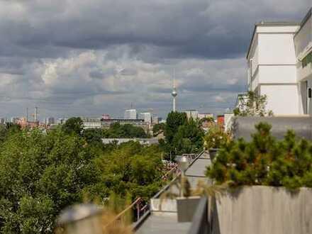 Traumhaftes Penthouse in begehrter Toplage in Friedrichshain-Kreuzberg!