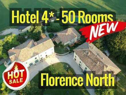 Florence 50 kms 4-Sterne Hotel - 4.000 sqm - 50 Zimmer