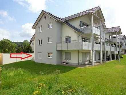 Erdgeschosswohnung mit Einbauküche und Terrasse in Münsingen