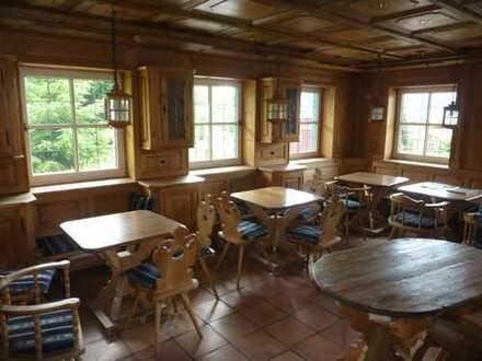Gaststätte/Restaurant mit separatem Barbereich, Hotelapartment und Garage