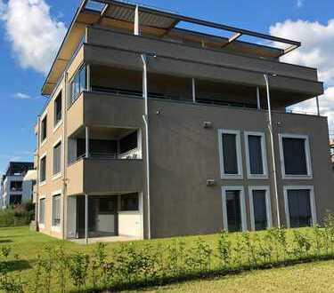 Erstbezug mit EBK und Balkon: exklusive 3-Zimmer-EG-Wohnung in Lauchringen