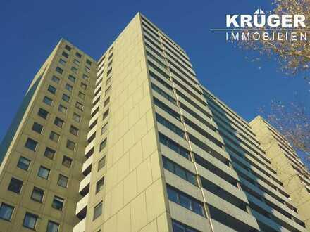 KA-West / schöne 3-Zimmer-Wohnung mit Loggia und EBK im 17.OG einer gepflegten Wohnanlage