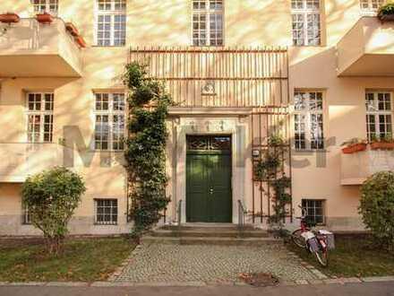 Hochwertige Altbauwohnung im modernisierten Komplex und in idyllischer Parklage