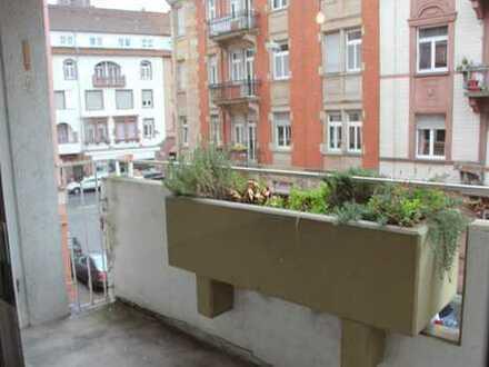 Neckarstadt Ost - Chice Single Wohnung mit 2 Balkonen