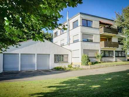 Bad Buchau-Kappel, 5-Zimmer-Wohnung im 1.OG, 115,6 m², mit Balkon + Keller - wartet auf neue Mieter