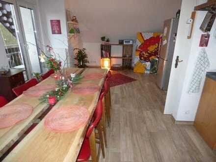 Altenberge, schöne, ländliche 3 Zimmerwohnung mit großer Dachterrasse zu vermieten