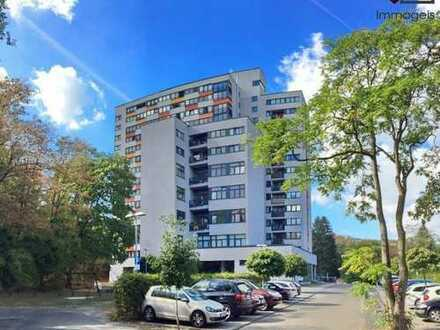 Exklusive und teilmöblierte 3-Zimmer-Wohnung | 5. Obergeschoss mit Balkon | Mainufer-Nähe