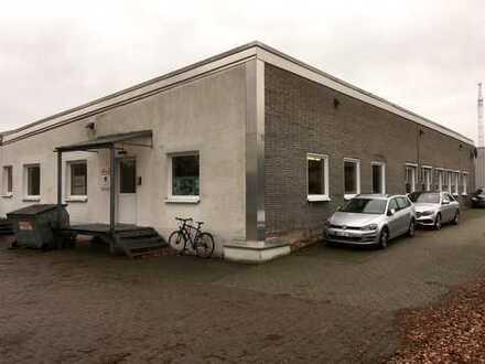 438 m² Gewerbehalle mit Büros in Münster Gewerbegebiet Kleimannbrücke