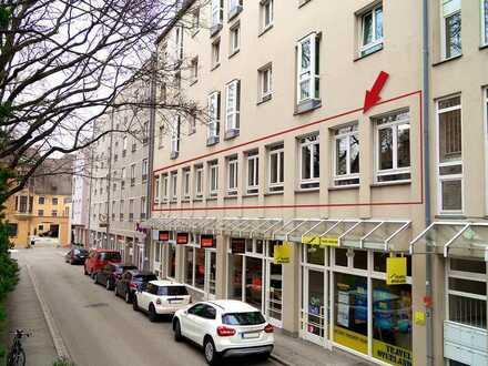 Helle und vielseitig nutzbare Büroflächen am Königsplatz