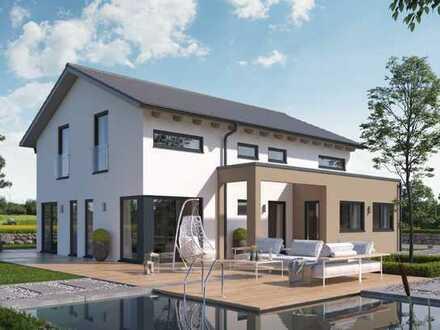 Jetzt aber raus aus der Miete! Hier entsteht Ihr neues Traumhaus von Schwabenhaus, inkl. Grundstück