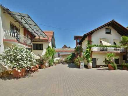 Immobilie mit vielen Möglichkeiten: ehemaliges Weingut mit 2 großen Wohnhäusern + Nebengebäuden