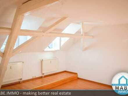 Schöne 2-Raumwohnung im Dachgeschoss - auf Wunsch mit modernen Bad