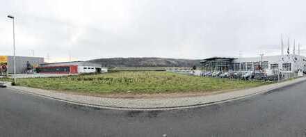 *HTR Immobilien GmbH* tolles Gewerbegrundstück direkt angrenzend an die B 469! (in 1. Reihe)