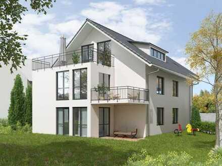 aussergewöhnliche 5,5 Zimmer Dachgeschosswohnung in einem 4-Familienhaus in schöner Feldrandlage