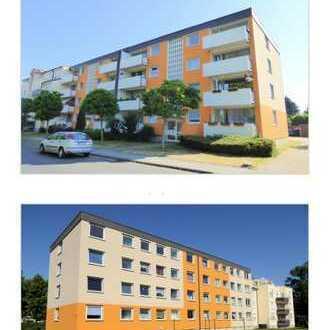 Schöne und günstig geschnittene drei Zimmer Wohnung im 1 Obergeschoss