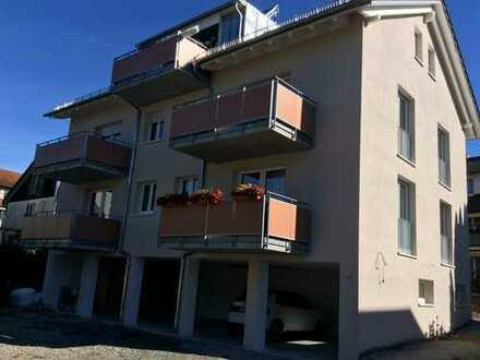 Neubau WHG mit EBK und Balkon: stilvolle 2-Zimmer-Wohnung in Konstanz