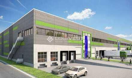 Neubau von Lagerhallen in Neustadt bei Coburg
