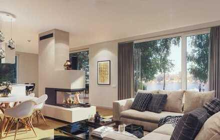 luxuriöse Eigentumswohnung mit Wasserblick und imposanter Terrasse