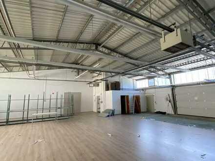 JETZT SOFORT - ebenerdige Werkstatthalle mit Büro - 300,00 m²
