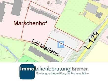 Grundstück für 90 Einheiten altersgerechtes Wohnen in Deichnähe