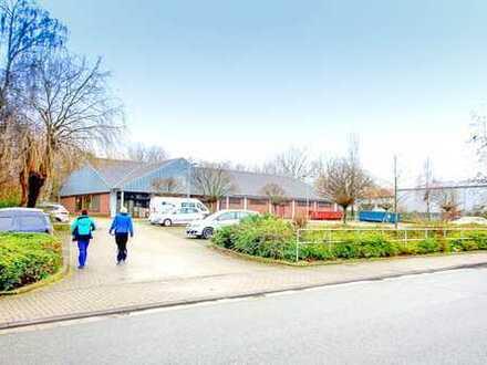 Ca. 950 qm Gewerbehalle auf 5.823 qm Grundstück im Herzen von Datteln mit ca. 80 Stellplätzen