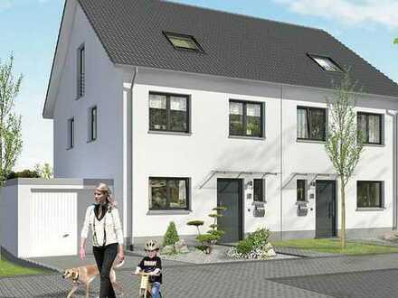 bezugsfertige Doppelhaushälfte mit 6,50 m Breite in toller Wohnlage