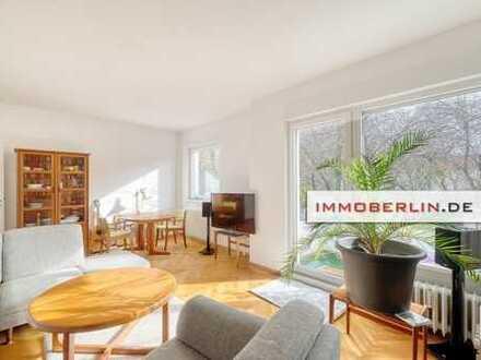 IMMOBERLIN: Sehr angenehm positionierte & gestaltete Wohnung mit Südbalkon