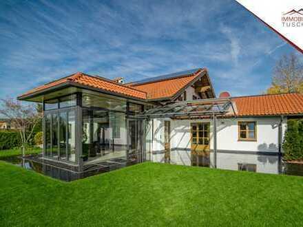 Ein absolutes Traumhaus mit 10 hoch exklusiven TG-Stellplätzen!