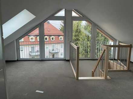 3-Zimmer-Wohnung über 2 Etagen mit Ost-Balkon und Dachterrasse in Memmingen