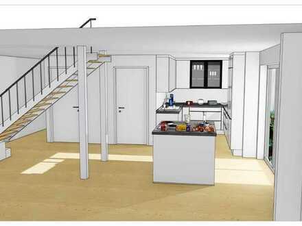 Provisionsfrei | Wohnung in einem 2 FH-Haus | 2 Etagen | OG + DG | Balkon | inkl. 2 Stellplätze