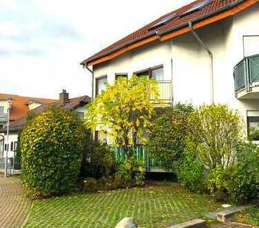 Sehr schön geschnittene 2-Zimmer-Wohnung mit Balkon und EBK in ruhiger Lage von Nußloch
