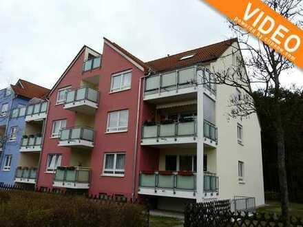 Schöne Wohnung mit Balkon am Waldrand in Cottbus-Sielow zu verkaufen!