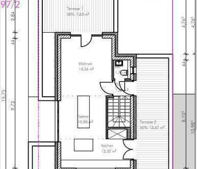 Vorankündigung NEUBAU: Penthouse + nur 2 WE