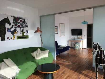 Furnished Design Penthouse in Central Berlin with Roof-Top Terrace