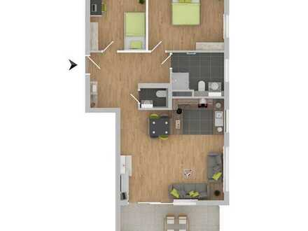Attraktive 3-Zimmerwohnung mit Balkon! [5]