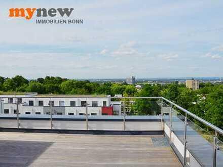 mynew: **** Neubau-Erstbezug! Penthouse mit Dachterrassen und traumhaftem Fernblick ***(WE E13)