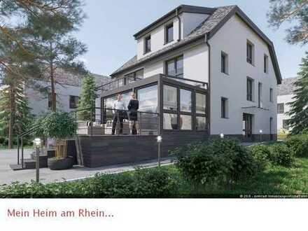 *doMstadt* Hier wird man wohnsinnig - 3-Zimmer Neubau-Dachgeschoss-Maisonette mit Dachloggia...
