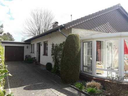 35 Min zur Küste: Einfamilienhaus in ruhiger Sackgasse, 4 ZKBWC, Wintergarten, Einbauküche, Wiesmoor