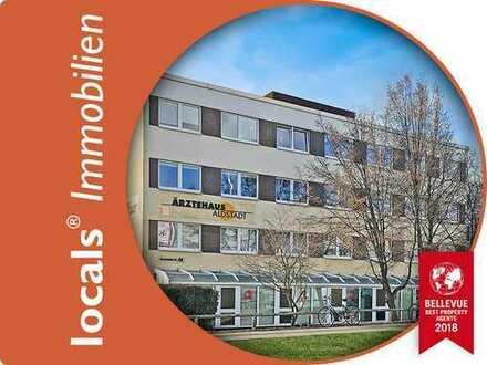 Pauschale Warmmiete! Praxisfläche im Ärztehaus Waldstadt!