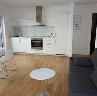 Exklusive 1,5.- Zimmer Wohnung mit hochwertiger Ausstattung und großer Terrasse