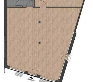 Büro/Praxis Neubau mit großem Schaufenster in Neu-Ulms bester Innenstadtlage
