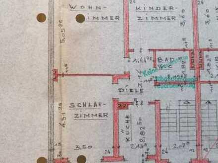 3-Raum-Nichtraucher-Wohnung mit Balkon in Köln-Stammheim