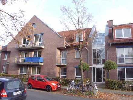 Helle 2-Zimmer-Maisonette-Wohnung mit Balkon in Münster