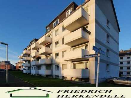 1. Etage + Süd-West-Balkon + ruhige Wohnstraße