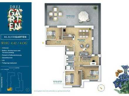 Großzügige 5 Zimmer Wohnung im Staffelgeschoss - SteimkerGärten.