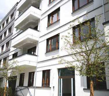 Erstbezug: hochwertige 3 Zimmer Wohnung mit Eckbalkon