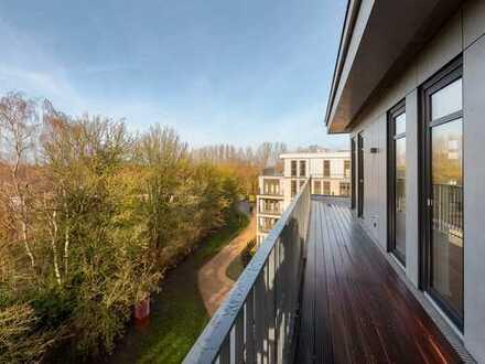 Perfekt ausgerichtete Penthouse-Wohnung in Mürwik