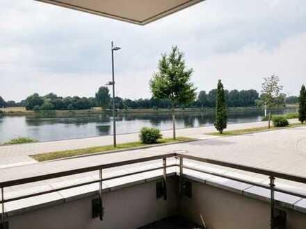 Direkt an der Weserpromenade - großzügi 2 Zi. Terrassen Whg im Magellan Quartier Überseestadt