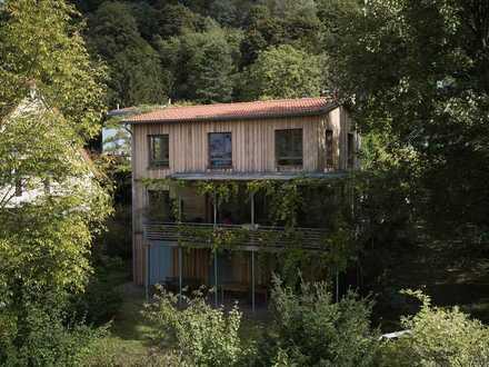 Reserviert: Nachhaltig erbaute Architektenvilla